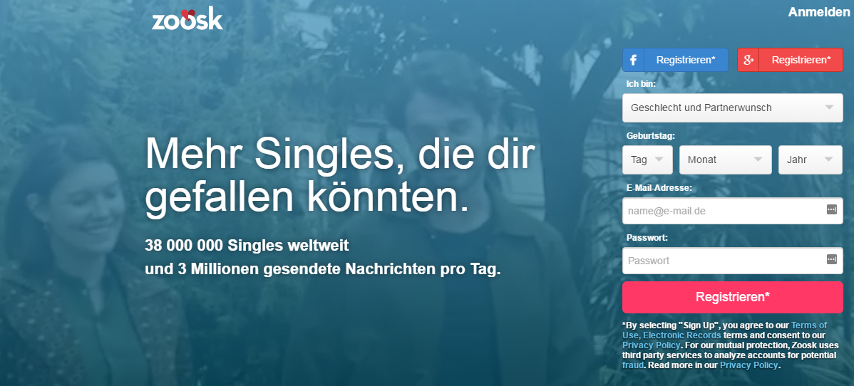 Online dating stiftung warentest